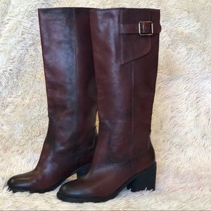 Beautiful Lucky Brand Oxblood Leather Boots